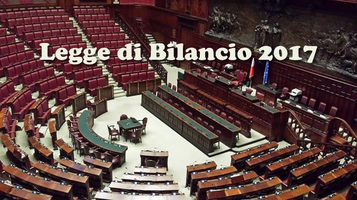 Legge di Bilancio 2017 - StudioCommercialeSilvestri.it
