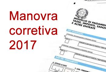 Manovra Correttiva 2017 - Studio Silvestri Commercialista.fw