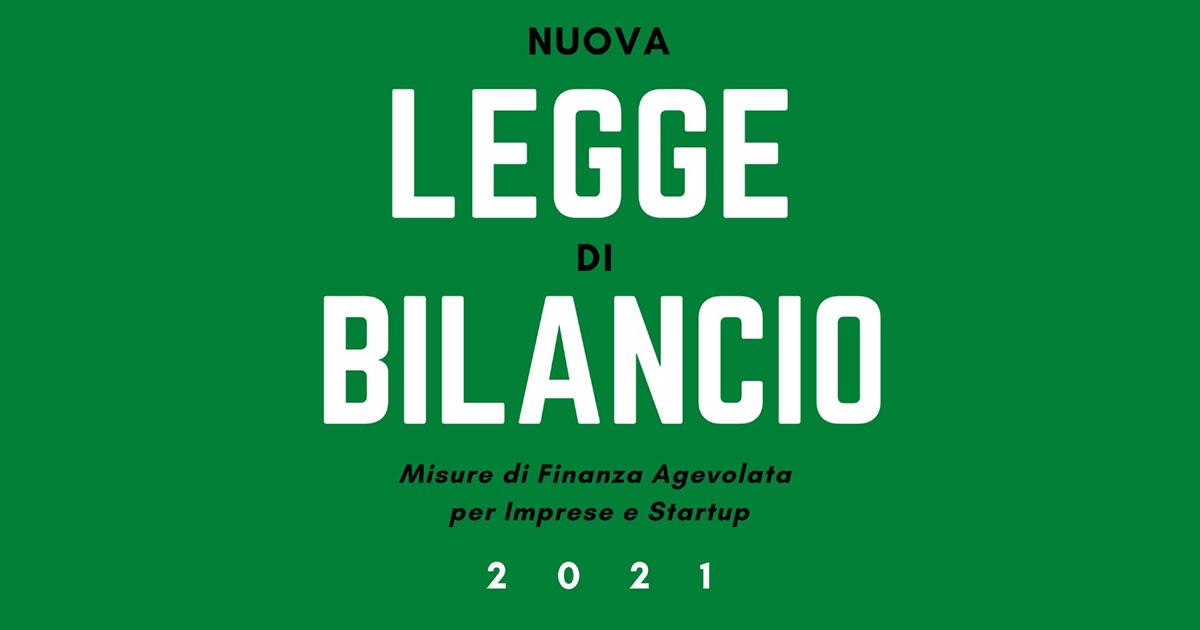 Legge di Bilancio 2021 - www.StudioCommercialeSilvestri.it